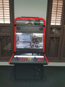 Retrocade Vewlix in NTUC Income's Office Game Room